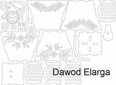 Dxf Files Free Download Tat News engraving 3d puzzles Plane
