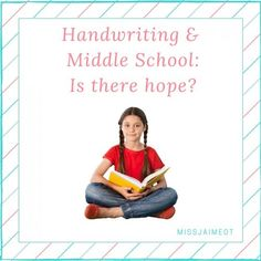 Handwriting & Middle School-Is there hope- (1)