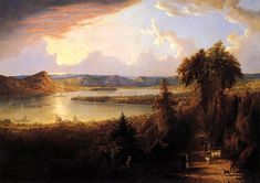 Robert Havell, Jr., Hudson River North to Croton Point, 1851, 37 x 51 inches, Collection of Ossining Historical Society Museum.