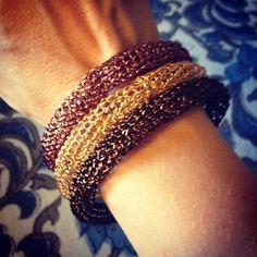 Hand crocheted bangles Bangles, Bracelets, Hand Crochet, My Love, Jewelry, Fashion, Moda, Jewlery, Jewerly