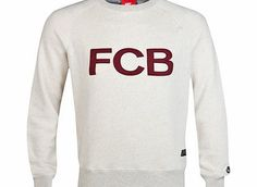 Nike Barcelona Covert AW77 Crew Sweatshirt - Dark Barcelona Covert AW77 Crew Sweatshirt - Dark Grey Heather/Team Red/Anthracite Dk GreyCOMFORT AND TEAM PRIDEThisdark greyFC Barcelona Covert AW77 Crew Sweatshirt is made with soft cotton and raglan http://www.comparestoreprices.co.uk/sportswear/nike-barcelona-covert-aw77-crew-sweatshirt--dark.asp