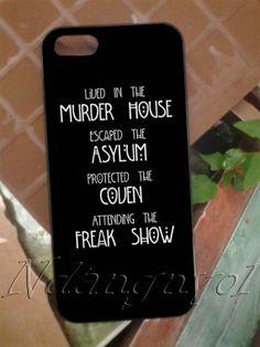 American Horror Story Four Seasons iPhone 4 4S by Ndangnyol, $14.00