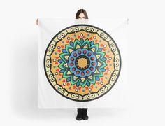 Decorative mandala scarves by mrhighsky on redbubble