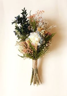 35 Navy & Pink Rustic Themed Countryside Wedding>Cheap Wedding Ideas for a Bride on a Budget Floral Wedding, Wedding Bouquets, Wedding Flowers, Wedding Colors, Flower Aesthetic, Dried Flowers, Flower Power, Planting Flowers, Floral Arrangements
