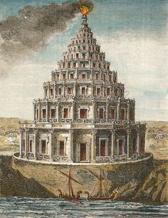 Hypatia and ancient alexandria together they fall alexandria alexandria egypt pharos lighthouse built under ptolemy ii phildelphus in 79 bc malvernweather Image collections