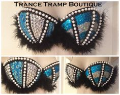 Hey, I found this really awesome Etsy listing at https://www.etsy.com/listing/165042375/clearance-cheshire-kitty-rave-bra