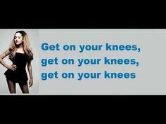 Nicki Minaj ft. Ariana Grande - Get On Your Knees (LYRICS) - YouTube