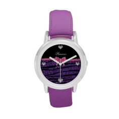 >>>Low Price          	Princess purple glitter zebra stripes pink bow watches           	Princess purple glitter zebra stripes pink bow watches online after you search a lot for where to buyReview          	Princess purple glitter zebra stripes pink bow watches Here a great deal...Cleck Hot Deals >>> http://www.zazzle.com/princess_purple_glitter_zebra_stripes_pink_bow_watch-256061470591389317?rf=238627982471231924&zbar=1&tc=terrest