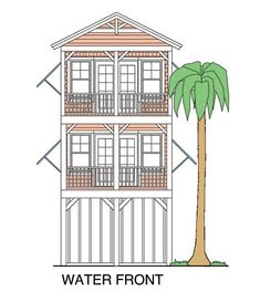 beach_girl_front house plans coastal homes elevated Cute Cottage, Cottage Plan, Beach Cottage Style, Beach Cottage Decor, Coastal Cottage, Coastal Homes, Beach Homes, Cottage Ideas, Cottage Living