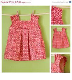 Girl's Dress Pattern PDF Sewing - The Brooke Dress Size 18m-5T