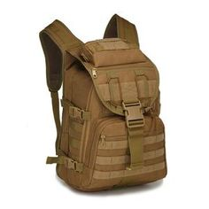108ba531bab8 40L Tactical Daypack MOLLE Assault Backpack Pack Military Rucksack - GirBuy  Backpack Camping