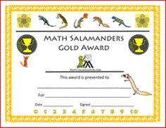 printable math awards
