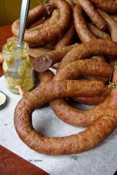Izioni pyszne smaki: Domowa kiełbasa jałowcowo-czosnkowa