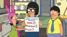 """Offer them a professional package to de-douching camp.   21 Ways To Silence The Haters As Told By Louise Belcher From """"Bob's Burgers"""""""
