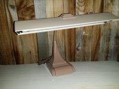 Vintage Industrial Drafting Desk Lamp Art Deco by JewelsRosesNRust, $109.95