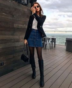 MORE PICTS You can also see more ideas about cool outfits schule , cool outfits invierno , cool outfits plus size , cool outfits herren , co. Look Fashion, Fashion Models, Fashion Trends, Autumn Fashion, Feminine Fashion, Fashion Tips, Winter Outfits For Work, Spring Outfits, Classy Outfits