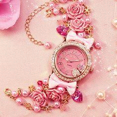 Deco Pink Watch