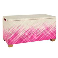 Color Weave Toy Box (Hot Pink) from Land of Nod