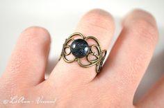 Ringe - ✼ Glimmerling ✼ Ring - ein Designerstück von LiAnn-Versand bei DaWanda