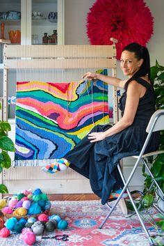 workshops natalie miller workshops I run regular tapestry weaving, macramé, knitting Love the socks!