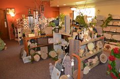 Sarah's Flowers & Gifts has a beautiful, large selection of unique giftware for all occasions.  102 Legion St Manchester Iowa 52057
