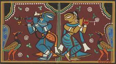 View Untitled Krishna and Radha by Jamini Roy on artnet. Browse upcoming and past auction lots by Jamini Roy.