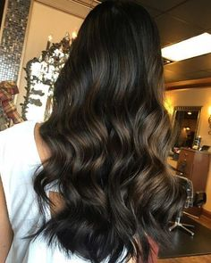 Black Hair Ombre, Brown Blonde Hair, Ombre Hair Color, Brown Hair Colors, Coffee Brown Hair, Coffee Hair, Brunette Hair Color With Highlights, Hair Highlights, Subtle Highlights