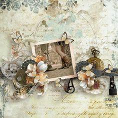 Time Immemorial by Studio Manu http://shop.scrapbookgraphics.com/search.php… — with Studio Manu,
