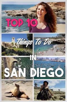 Top 10 Things To Do In 10 San Diego ►Join me on my journey around San Diego as I show you the very best things to do including Balboa Park, the San Diego Zoo, Coronado Island, Pacific Beach, The USS Midway, San Diego's Gaslamp quarter, the wild seals at La Jolla Cove, Balboa Park, Old Town and more!