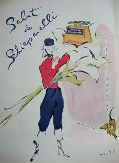 1944 Ad Campaign – Schiaparelli Perfumes, 1940s | The Vintage Traveler