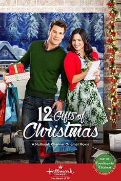 // 12 Gifts of Christmas with Katrina Law, Aaron O'Connell & Donna Mills Hallmark Channel, Películas Hallmark, Films Hallmark, Hallmark Holiday Movies, Xmas Movies, Best Christmas Movies, Christmas Shows, 2015 Movies, Family Movies