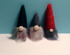 Cute Scandinavian Sweater Gnomes set of 3 by Gnomes4theHolidays