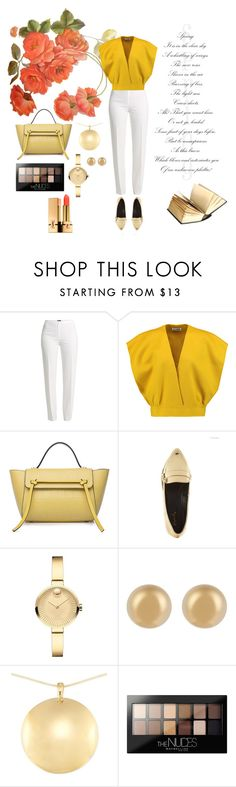 """Untitled #18"" by aomidak ❤ liked on Polyvore featuring Basler, Jil Sander, Qupid, Movado, J.W. Anderson, Maybelline and Yves Saint Laurent"