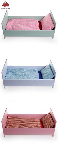 puppenbett selber bauen anleitung diy pinterest. Black Bedroom Furniture Sets. Home Design Ideas