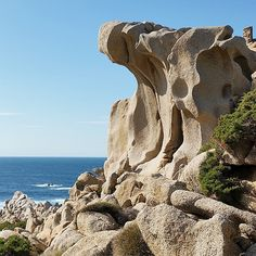 Capo Testa Mount Rushmore, Ocean, Sky, Mountains, Spring, Beach, Water, Instagram Posts, Travel