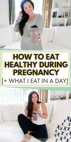 How To Eat Healthy During Pregnancy What I Eat In A Day While Pregnant healthy pregnancy tips and diet pregnancy meal plan and snacks pregnant diet healthy eating tips w. Parenting Humor, Parenting Tips, Healthy Pregnancy Tips, Pregnancy Info, Pregnancy Foods, Pregnancy Nutrition, Pregnancy Care, Meals During Pregnancy, Pregnancy Lunches