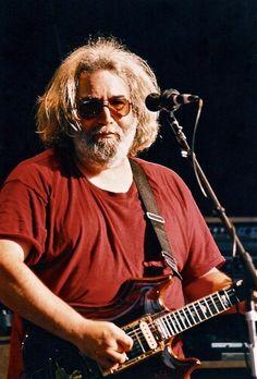 Jerry garcia in concert.