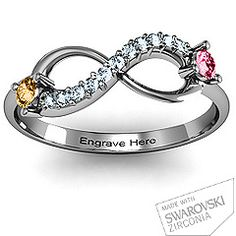 Want this with the kids birthstones!!!