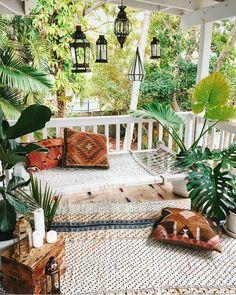 #Jungalowstyle Porch #garden sanctuary