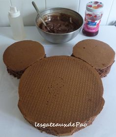 Gateau maison minnie