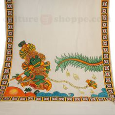 1000 images about saree on pinterest kerala saree for Aithihya mural painting fabrics