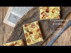 Podplamenník z kvásku - YouTube Quiche, Bread, Breakfast, Youtube, Food, Morning Coffee, Brot, Essen, Quiches