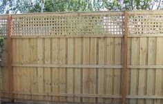 backyard privacy fence extension - Google Search
