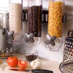 Bom dia!! Porta Cereais X Porta Alimentos que tal? #cozinha #despensa #organização #organizesemfrescuras
