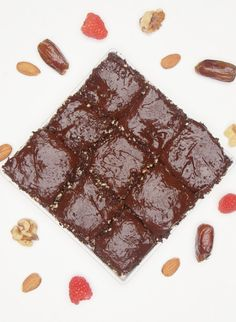 These Raw Brownies Will Satisfy Your Chocolate Craving