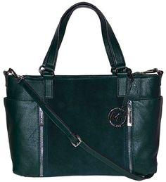 MICHAEL Michael Kors Huntergreen Leather Crosby « Clothing Impulse
