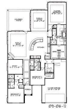 VILLAGE BUILDERS 2034 Sq Ft Fav Home Floor Plans Pinterest - Trendmaker Homes Floor Plans