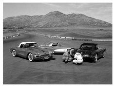 Motor Trend Magazine testing… new 1958 C1 Corvettes