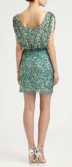 Mermaid sparkle dress #newyears