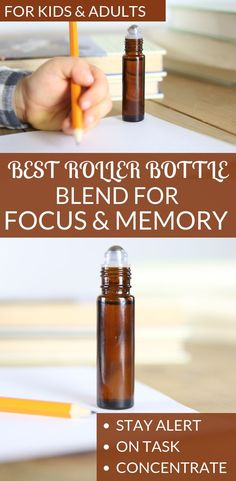 Essential oils for Focus and Concentration | Roller bottle for adults and kids #essentialoils #natiuralremedies #ouroilyhouse #rollerbottlerecipes #diy #homeremedies #essentialoilsforkids #oilblendsforkids Essential Oils For Kids, Doterra Essential Oils, Young Living Essential Oils, Essential Oil Diffuser, Essential Oil Blends, Frankincense Essential Oil, Peppermint Essential Oil Uses, Wild Orange Essential Oil, Allergies
